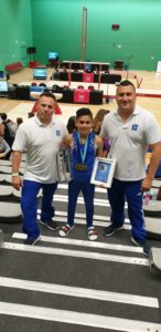 Oakley Banks wins Under 14's and the Max Whitlock Trophy at London Open!