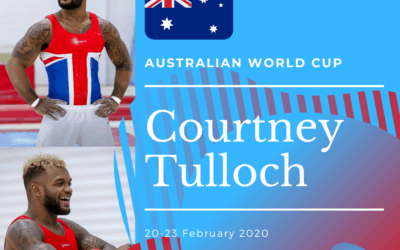 Courtney competes at World Cup – Australia