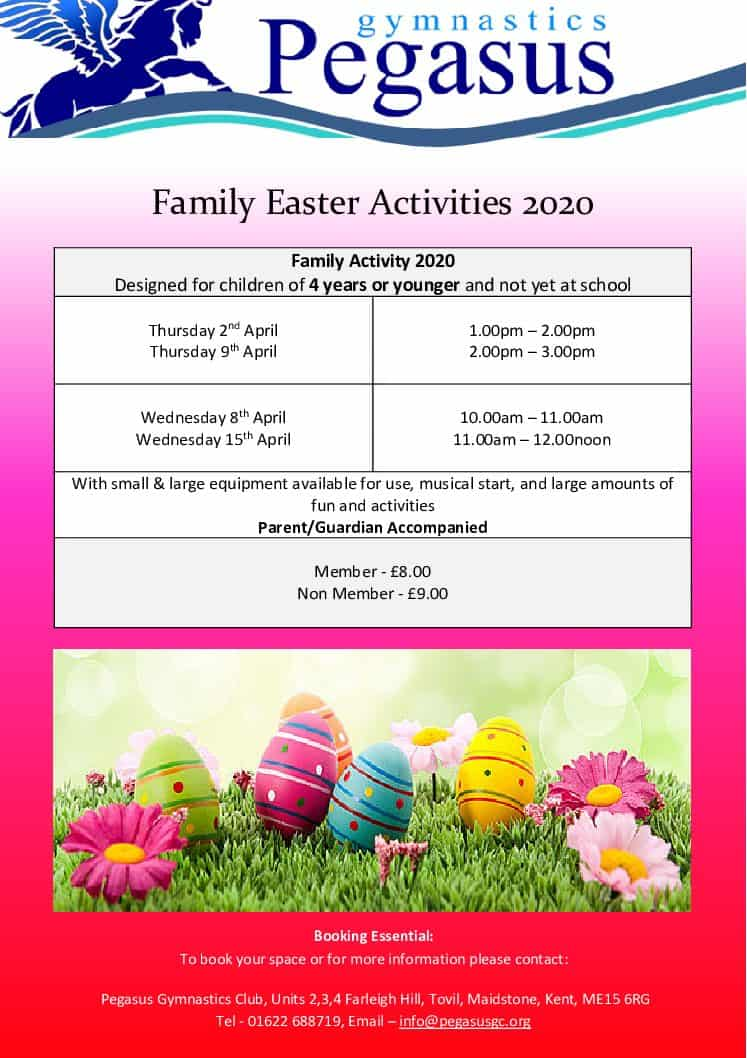 Easter Family Holiday Activities 2020